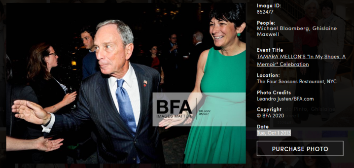 Screenshot_2020-02-13 Michael Bloomberg, Ghislaine Maxwell at TAMARA MELLON'S In My Shoes A Memoir Celebration id 852477 by[...]